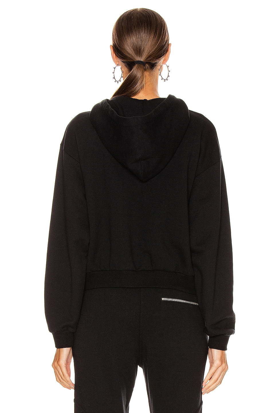 Image 3 of JOHN ELLIOTT Hooded Villain Sweatshirt in Black