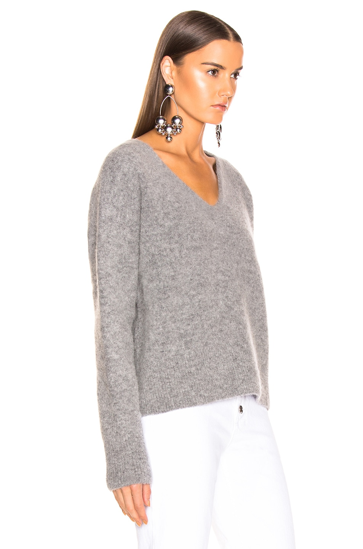 Image 2 of JOHN ELLIOTT Cobalt Alpaca Sweater in Huskey