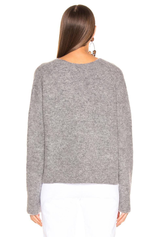 Image 3 of JOHN ELLIOTT Cobalt Alpaca Sweater in Huskey