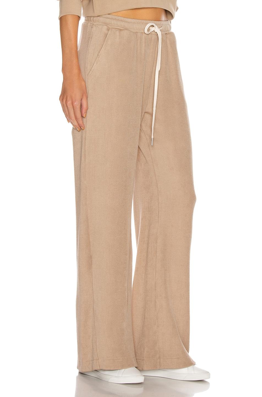 Image 2 of JOHN ELLIOTT Corduroy Sweatpants in Linen