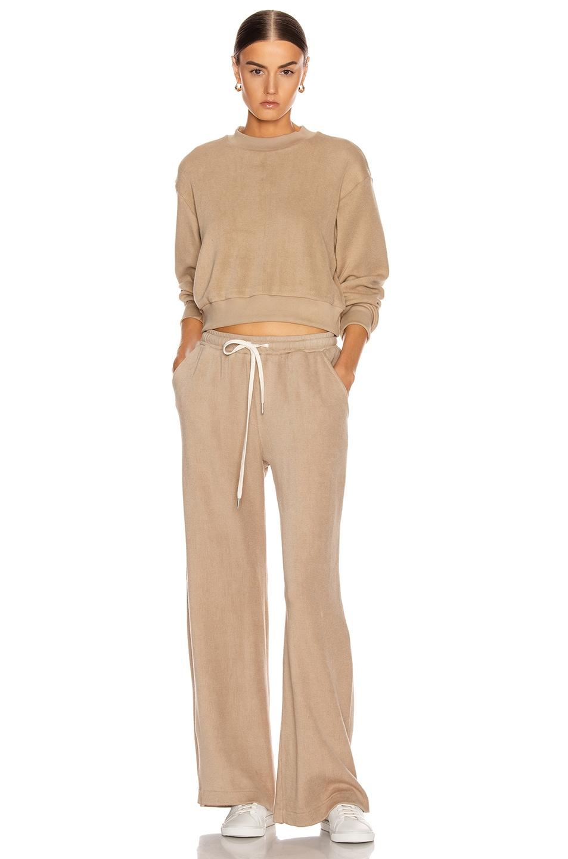 Image 4 of JOHN ELLIOTT Corduroy Sweatpants in Linen