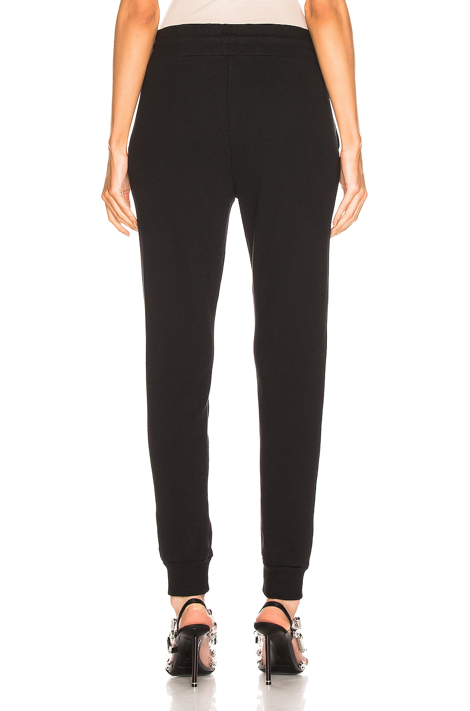 Image 3 of JOHN ELLIOTT Dakota Sweatpant in Heather Grey in Black