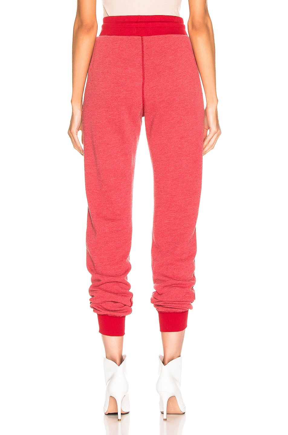 Image 3 of JOHN ELLIOTT Vintage Fleece Sweatpant in Cherry