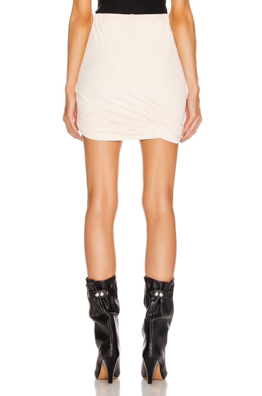 Image 3 of JOHN ELLIOTT Velvet Jersey Skirt in Basalt