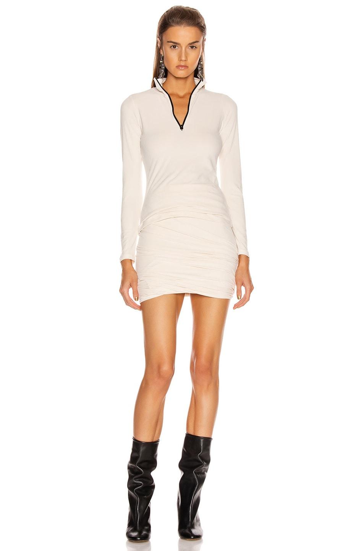 Image 4 of JOHN ELLIOTT Velvet Jersey Skirt in Basalt