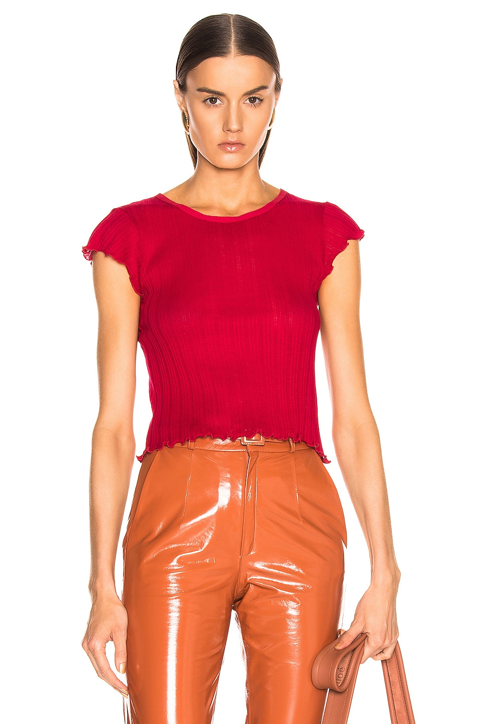 Image 1 of JOHN ELLIOTT Avery Tee in Cherry