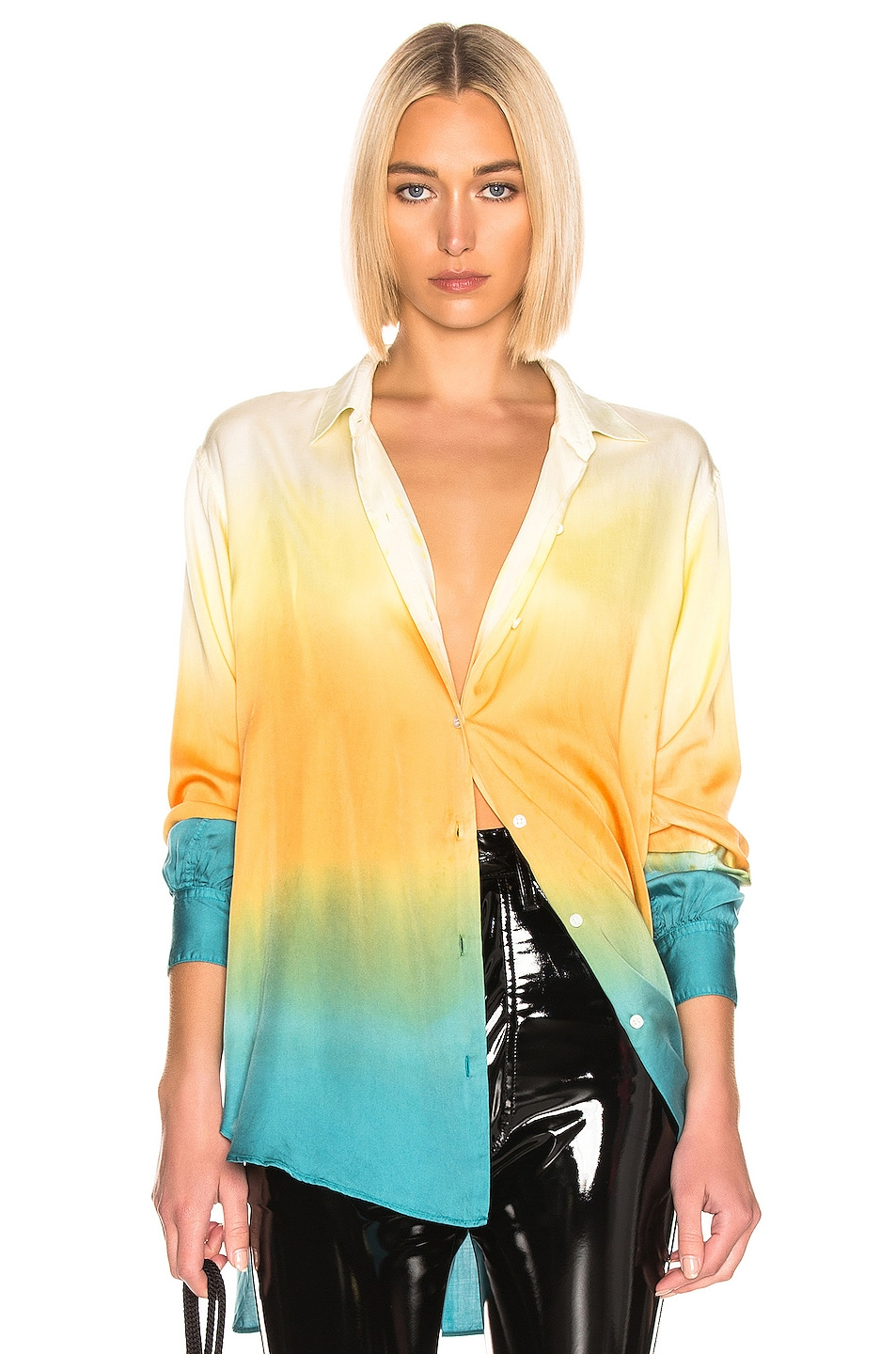 Image 1 of JOHN ELLIOTT for FWRD Jude Blouse in Gradient