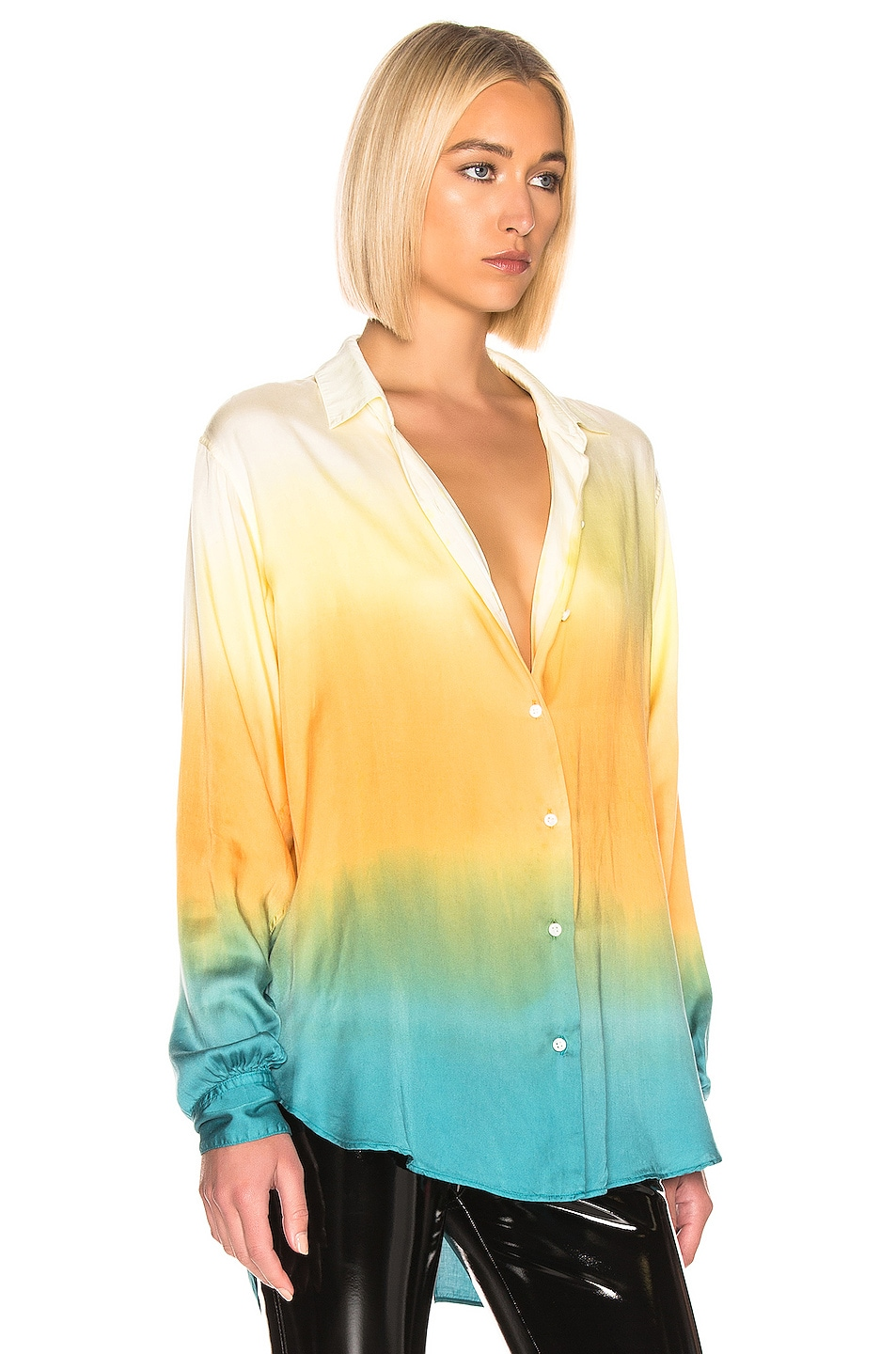 Image 2 of JOHN ELLIOTT for FWRD Jude Blouse in Gradient