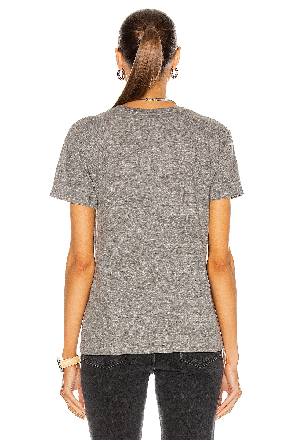 Image 3 of JOHN ELLIOTT Jersey Relaxed Tee in Heather Grey