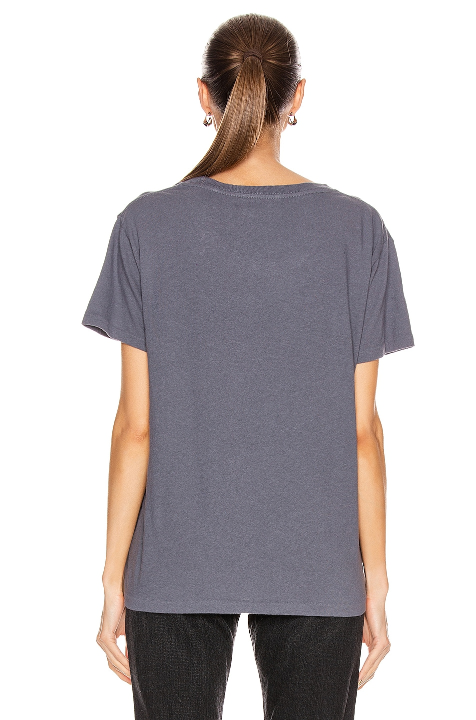 Image 3 of JOHN ELLIOTT Jersey Relaxed Tee in Dusty Navy