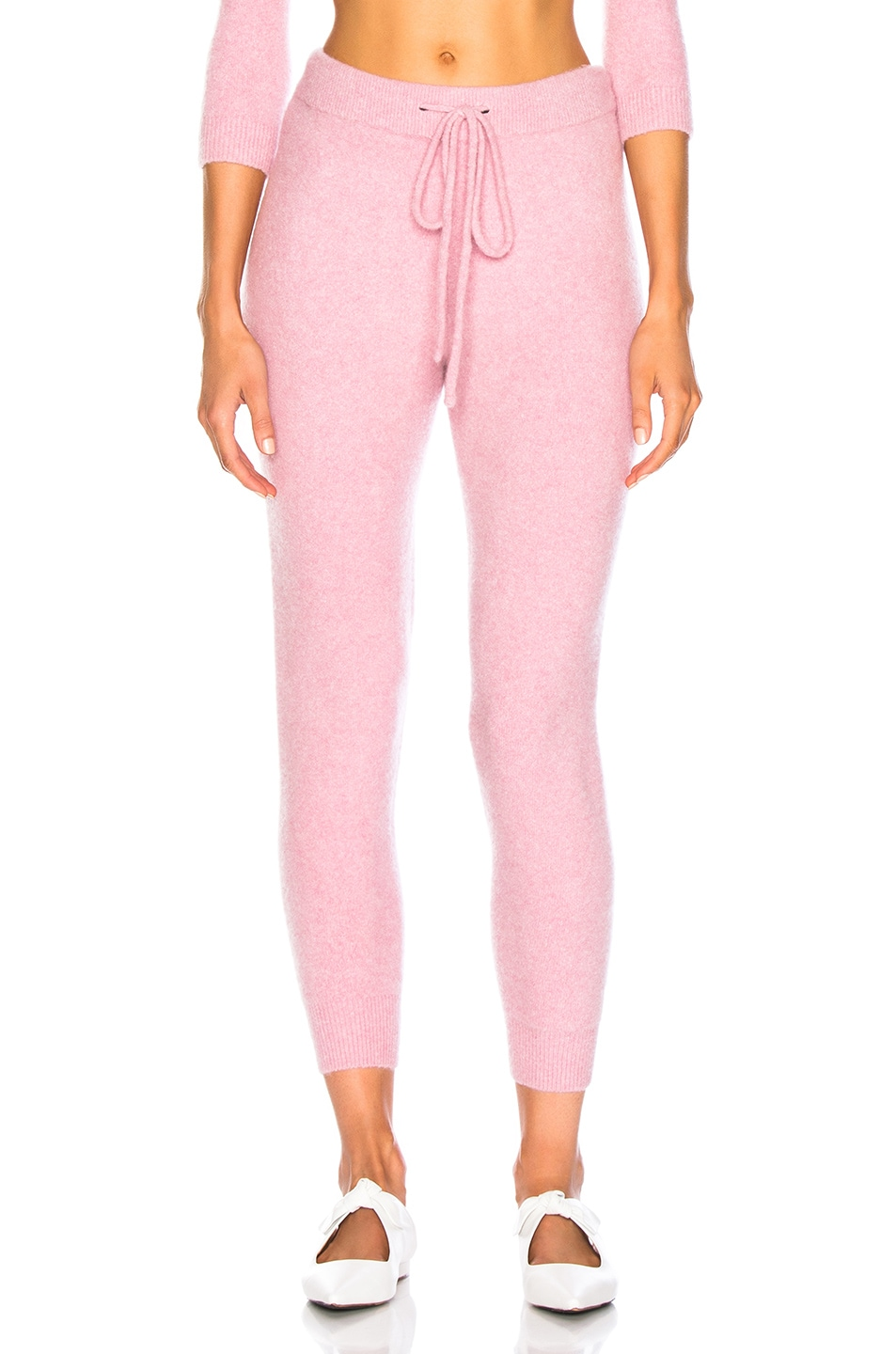 Image 1 of JoosTricot Cuddle Joggers in Cherry Cream