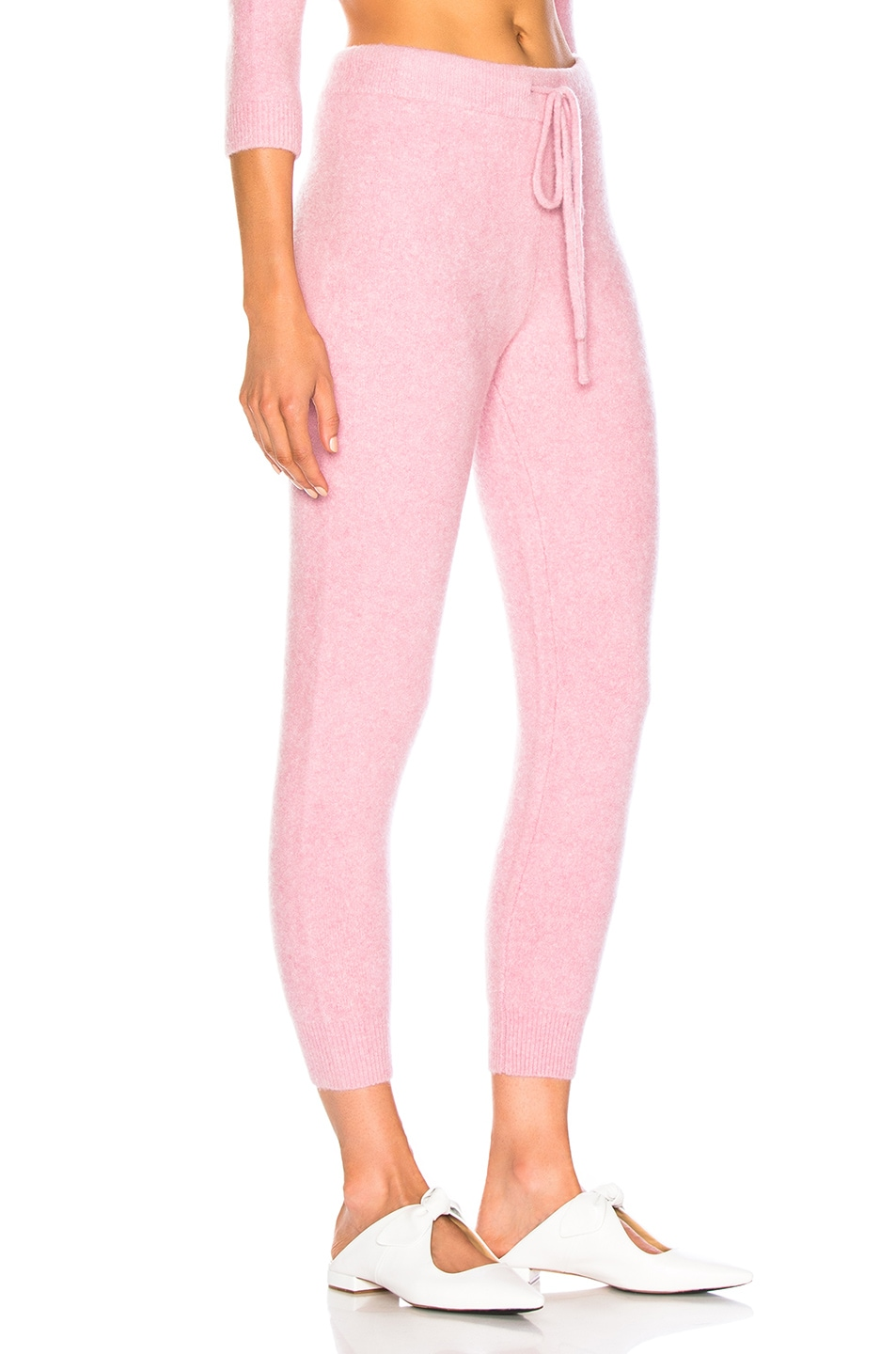 Image 2 of JoosTricot Cuddle Joggers in Cherry Cream