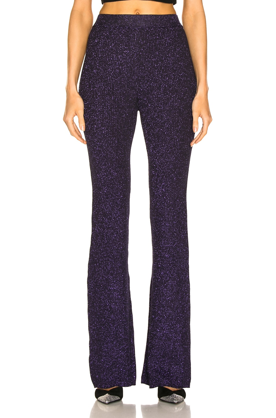 Image 1 of JoosTricot Flared Pants in Purple