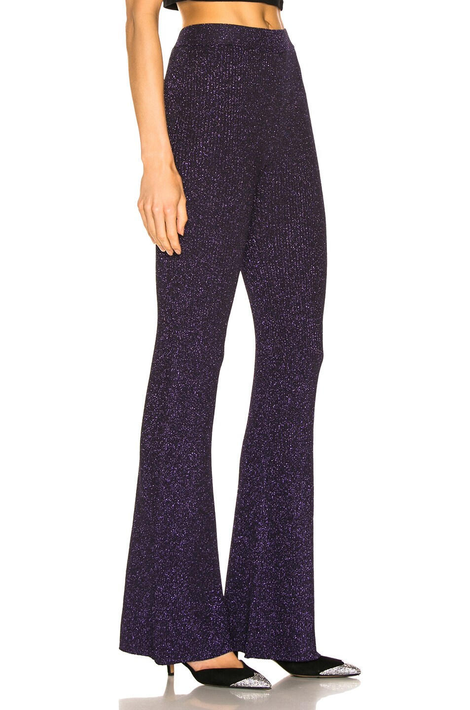 Image 2 of JoosTricot Flared Pants in Purple