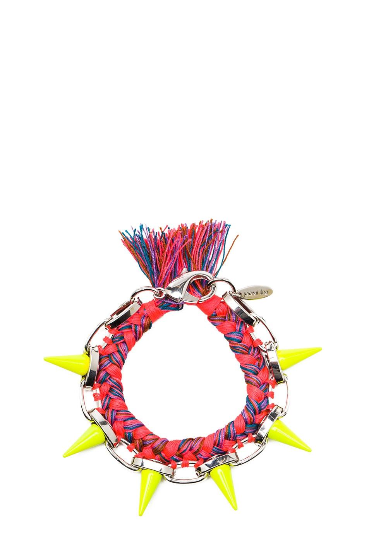 Image 1 of JOOMI LIM Punk Carnival Bracelet in Orange Blue Combo & Yellow