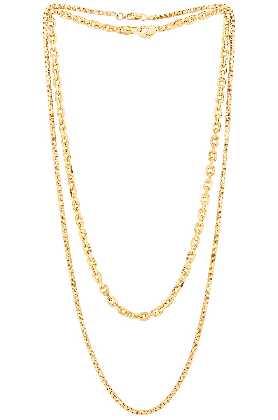Image 1 of Jordan Road Jewelry Ojai Necklace Stack in Gold