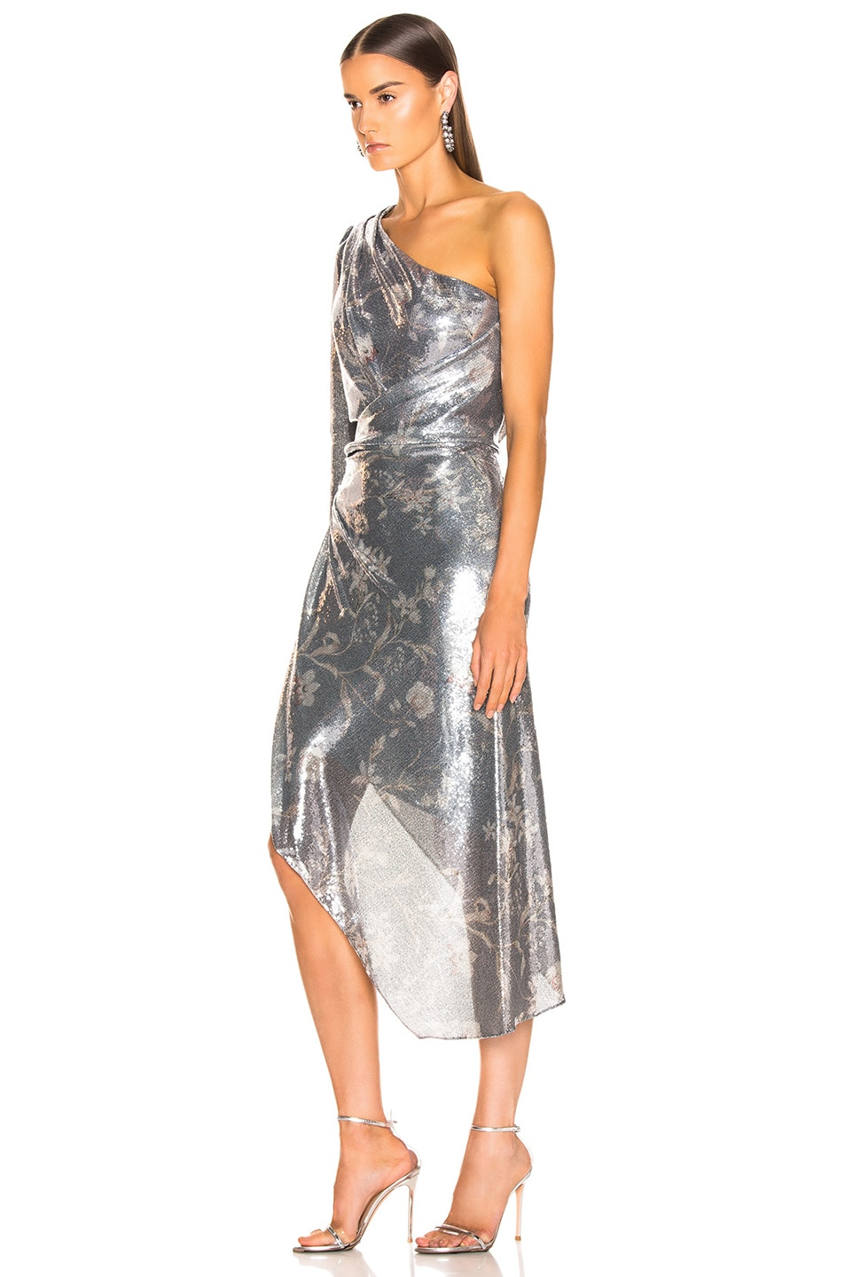 Image 3 of Johanna Ortiz Glassy Orchid Dress in Gray