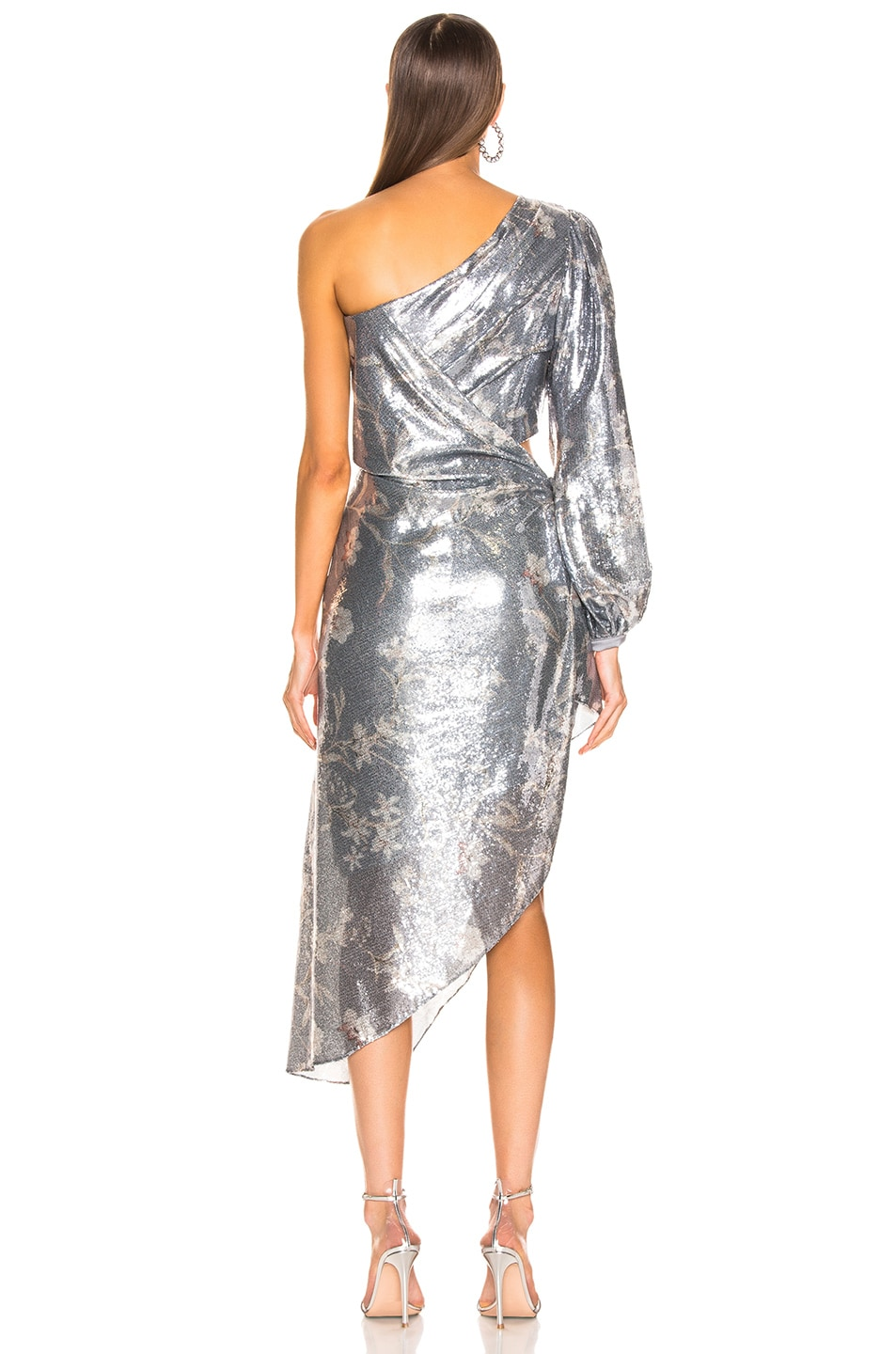 Image 4 of Johanna Ortiz Glassy Orchid Dress in Gray