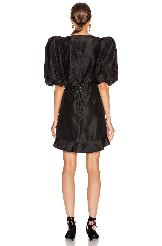 Image 3 of Johanna Ortiz Love Expansion Mini Dress in Black