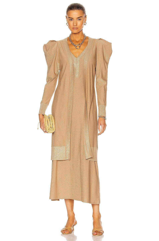 Image 1 of Johanna Ortiz Kashmir Dress in Golden