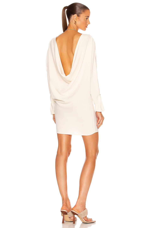 Image 1 of Johanna Ortiz Spiritual Light Mini Dress in Ecru