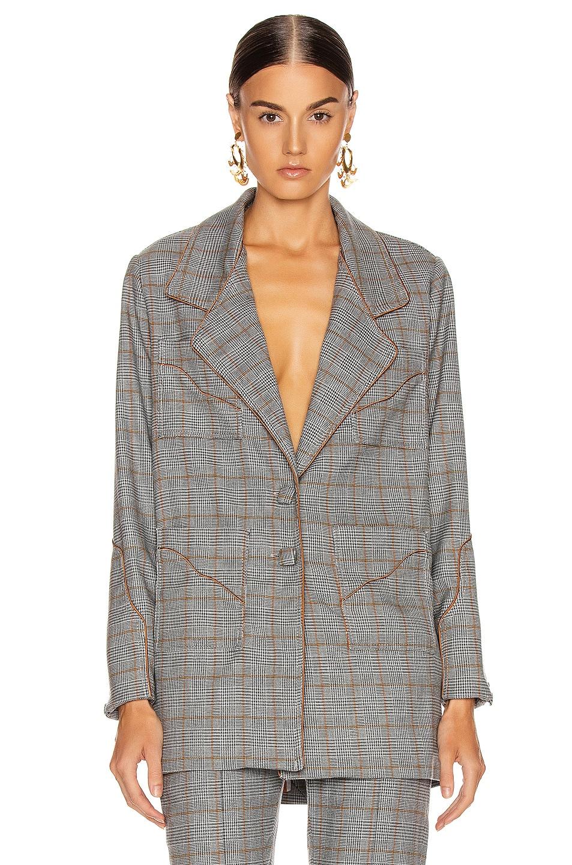 Image 2 of Johanna Ortiz Shape Jacket in Licorice