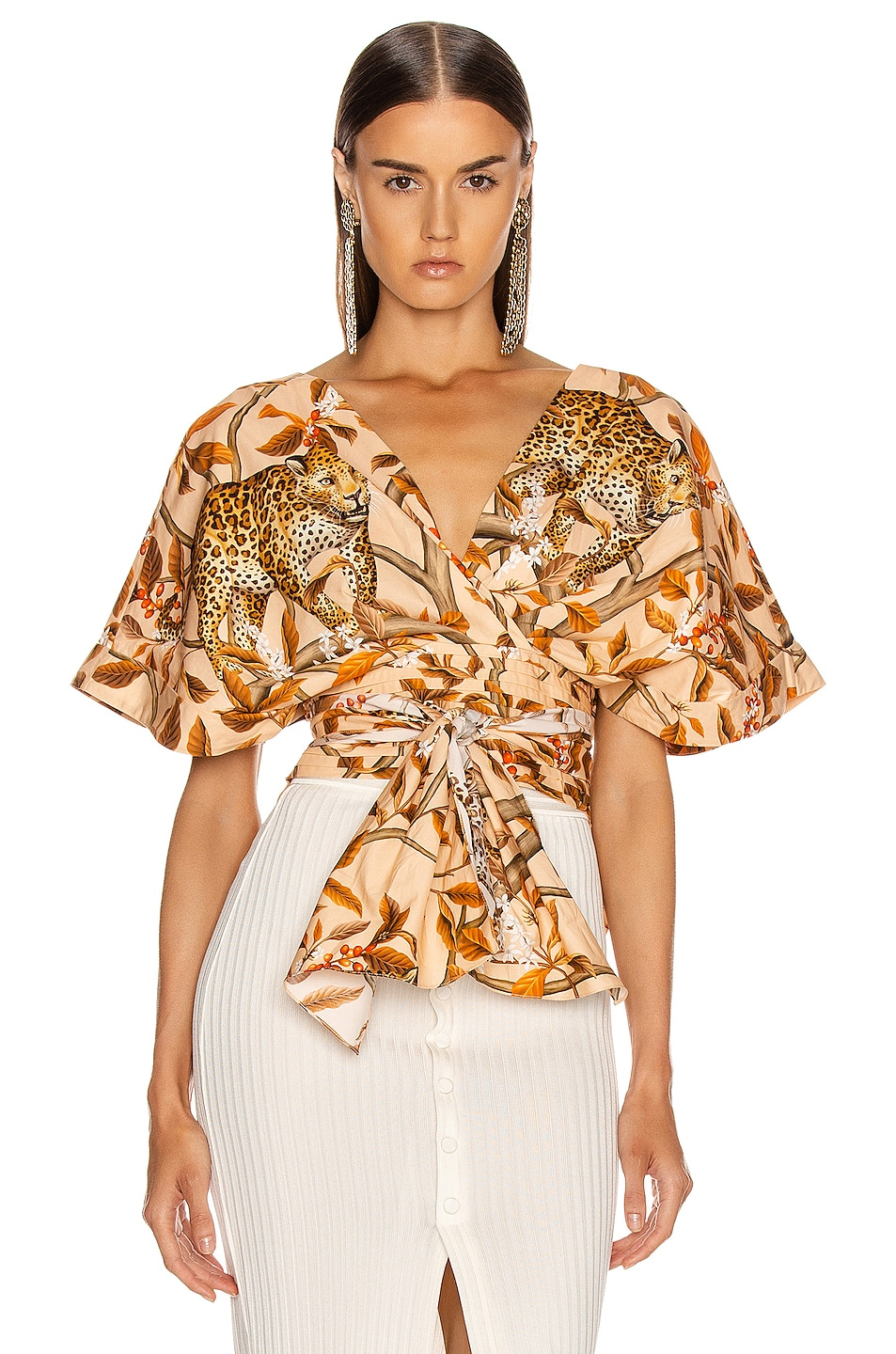Image 1 of Johanna Ortiz Young and Wild Top in Soft Peach