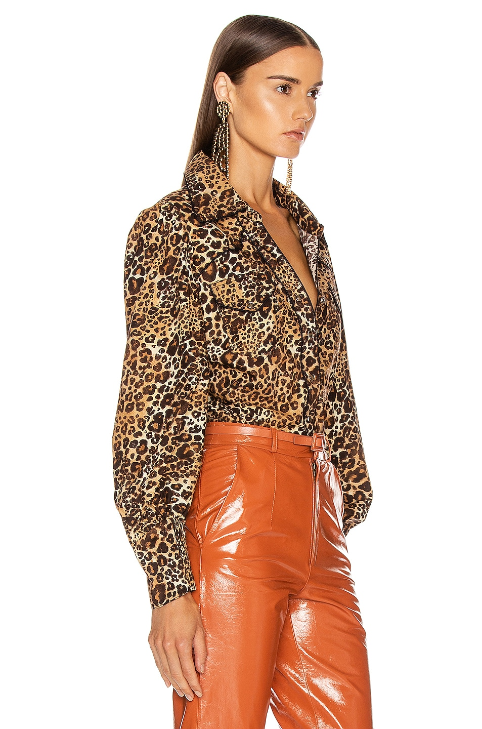 Image 2 of Johanna Ortiz African Roots Top in Leopard Classic