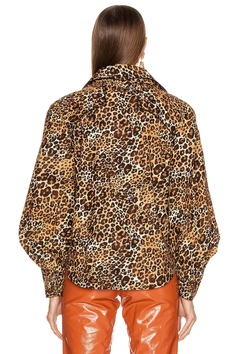 Image 3 of Johanna Ortiz African Roots Top in Leopard Classic