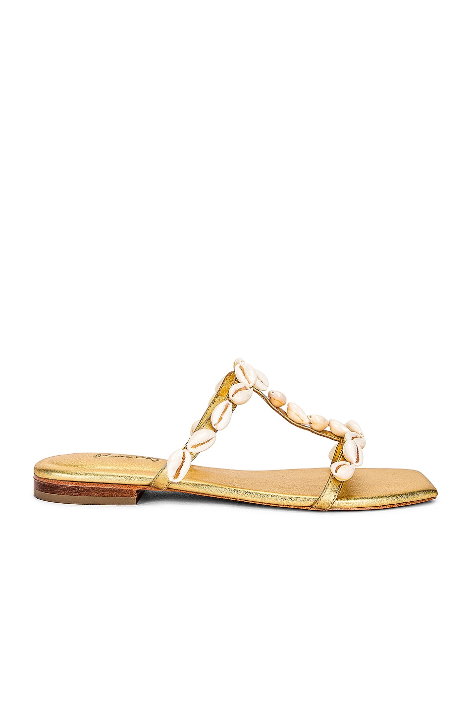 Image 1 of Johanna Ortiz Take A Holiday Flats in Gold