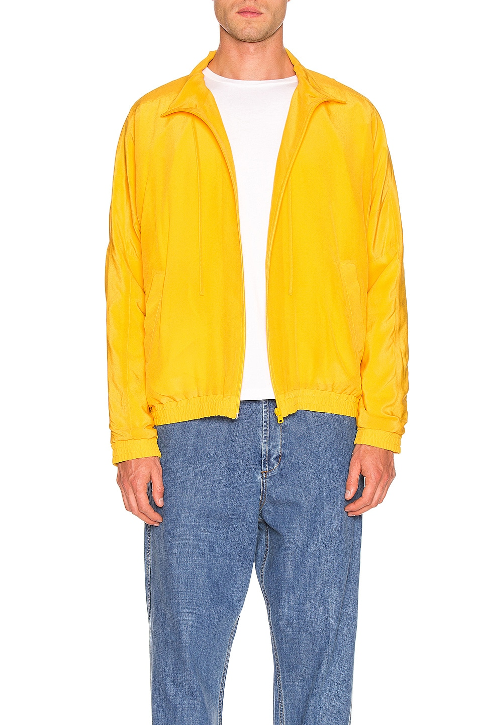 Image 1 of JACQUEMUS Marseille Jacket in Dark Yellow