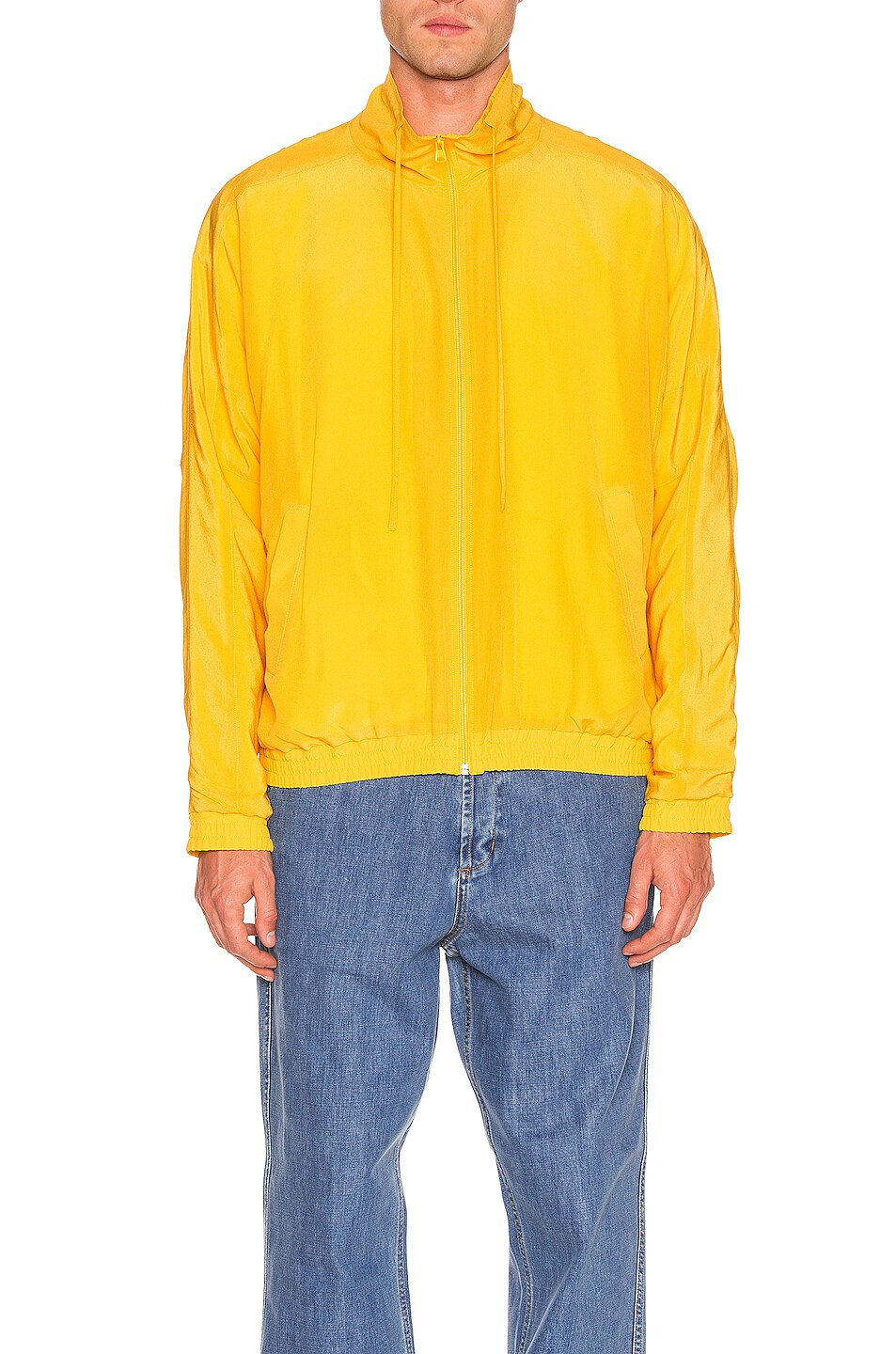 Image 2 of JACQUEMUS Marseille Jacket in Dark Yellow