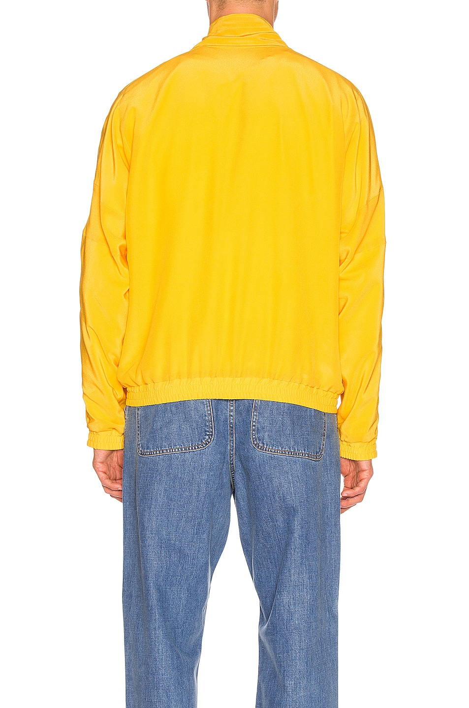 Image 4 of JACQUEMUS Marseille Jacket in Dark Yellow