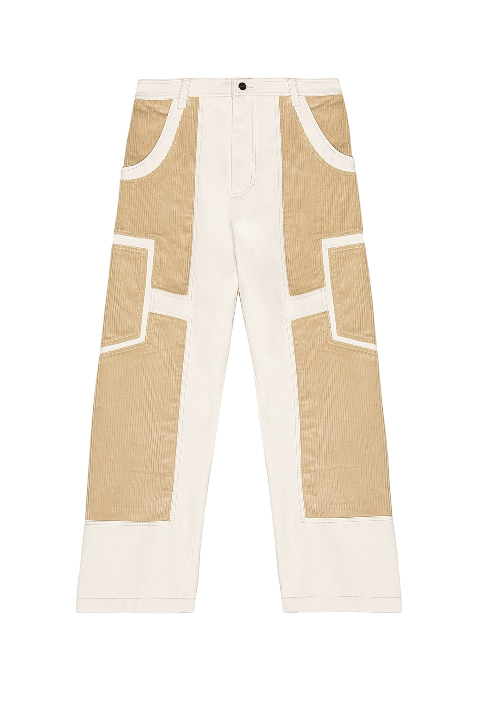 Image 1 of JACQUEMUS Bellu Pants in Off White