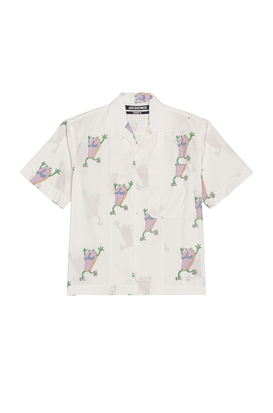 Image 1 of JACQUEMUS Jean Shirt in White