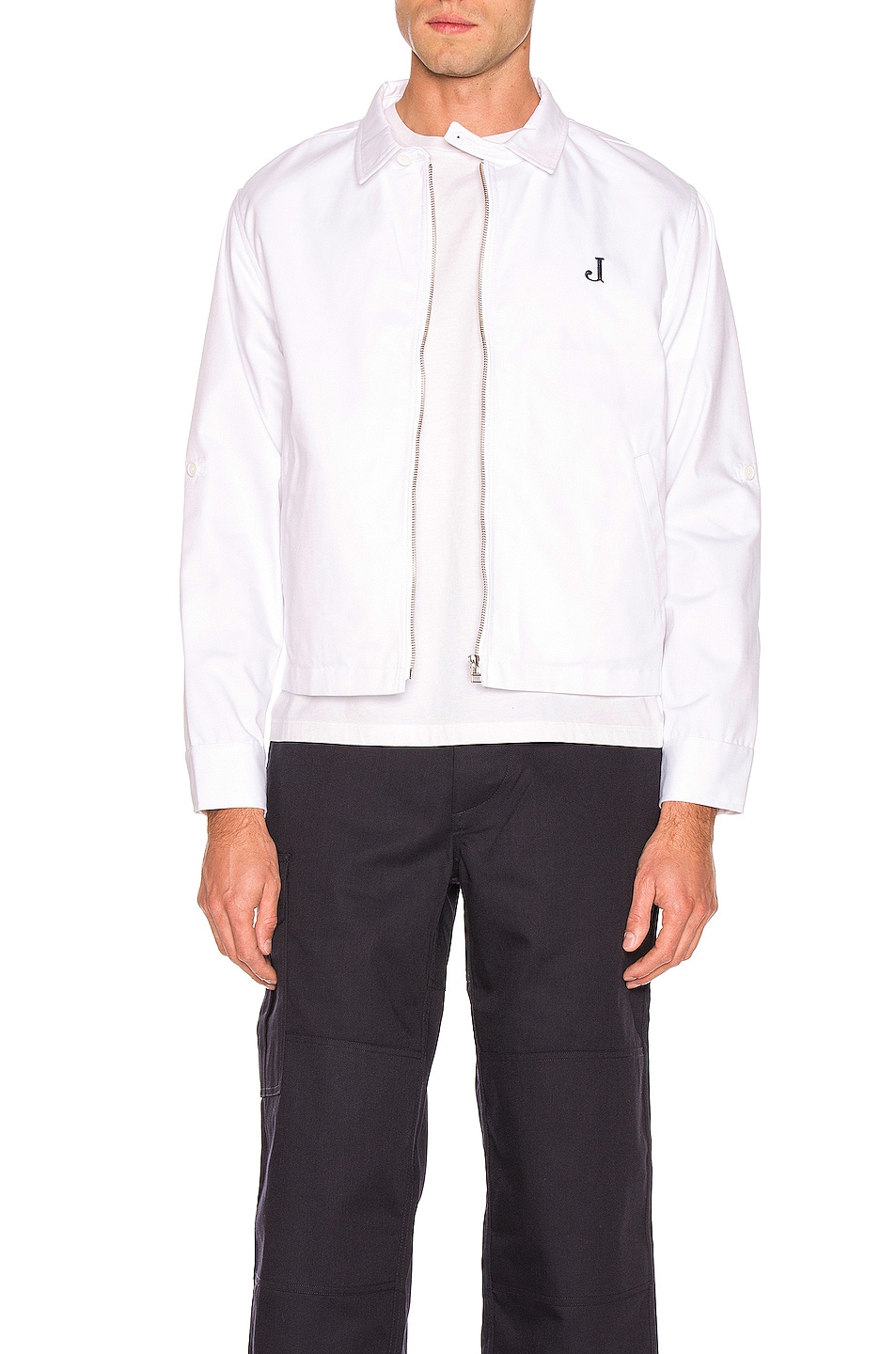 Image 1 of JACQUEMUS Letter Jacket in White