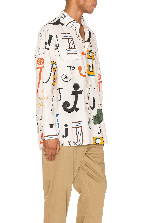 Image 2 of JACQUEMUS Felix Shirt in Multi
