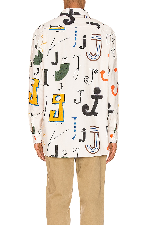 Image 3 of JACQUEMUS Felix Shirt in Multi