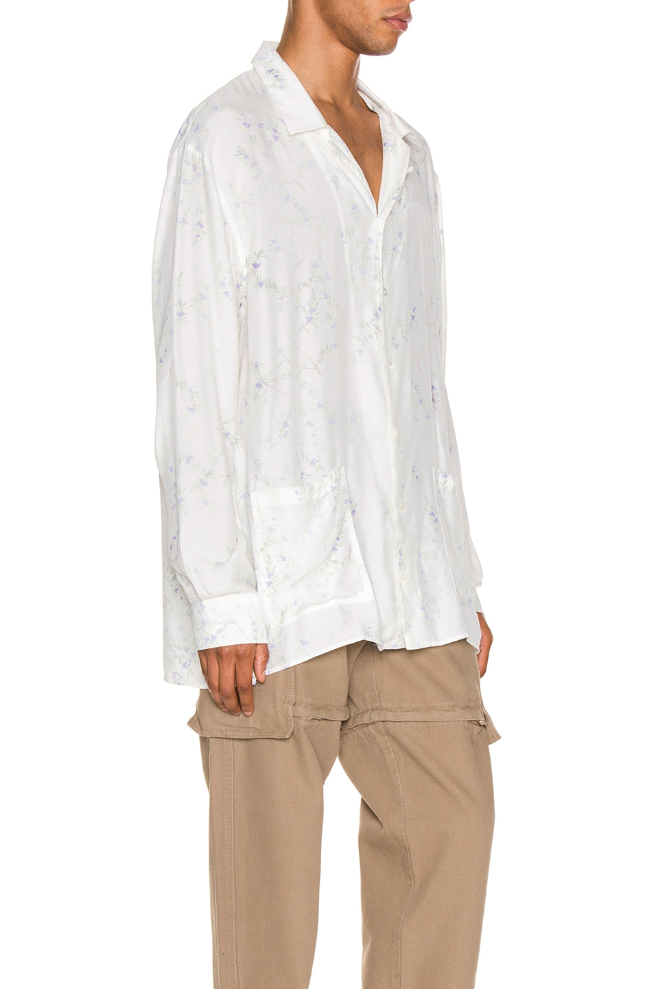 Image 2 of JACQUEMUS Etienne Shirt in White