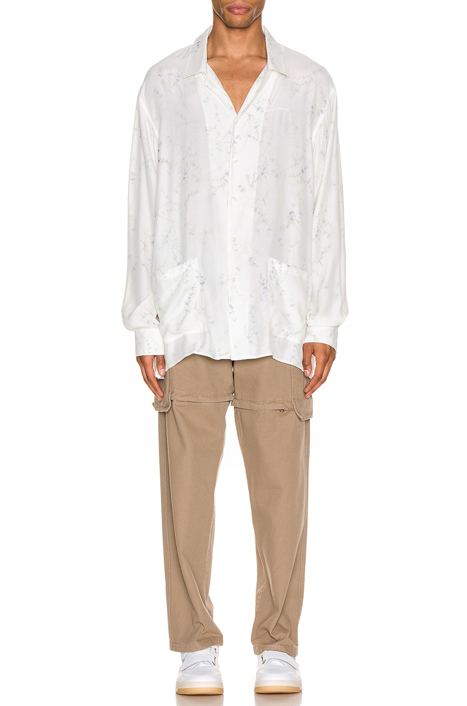 Image 4 of JACQUEMUS Etienne Shirt in White