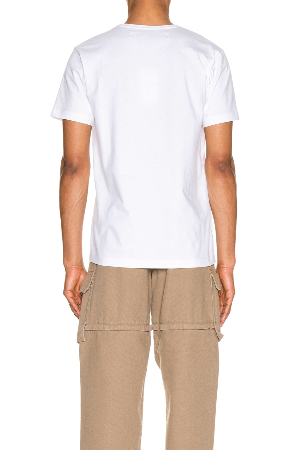 Image 3 of JACQUEMUS Logo Tee in Off White