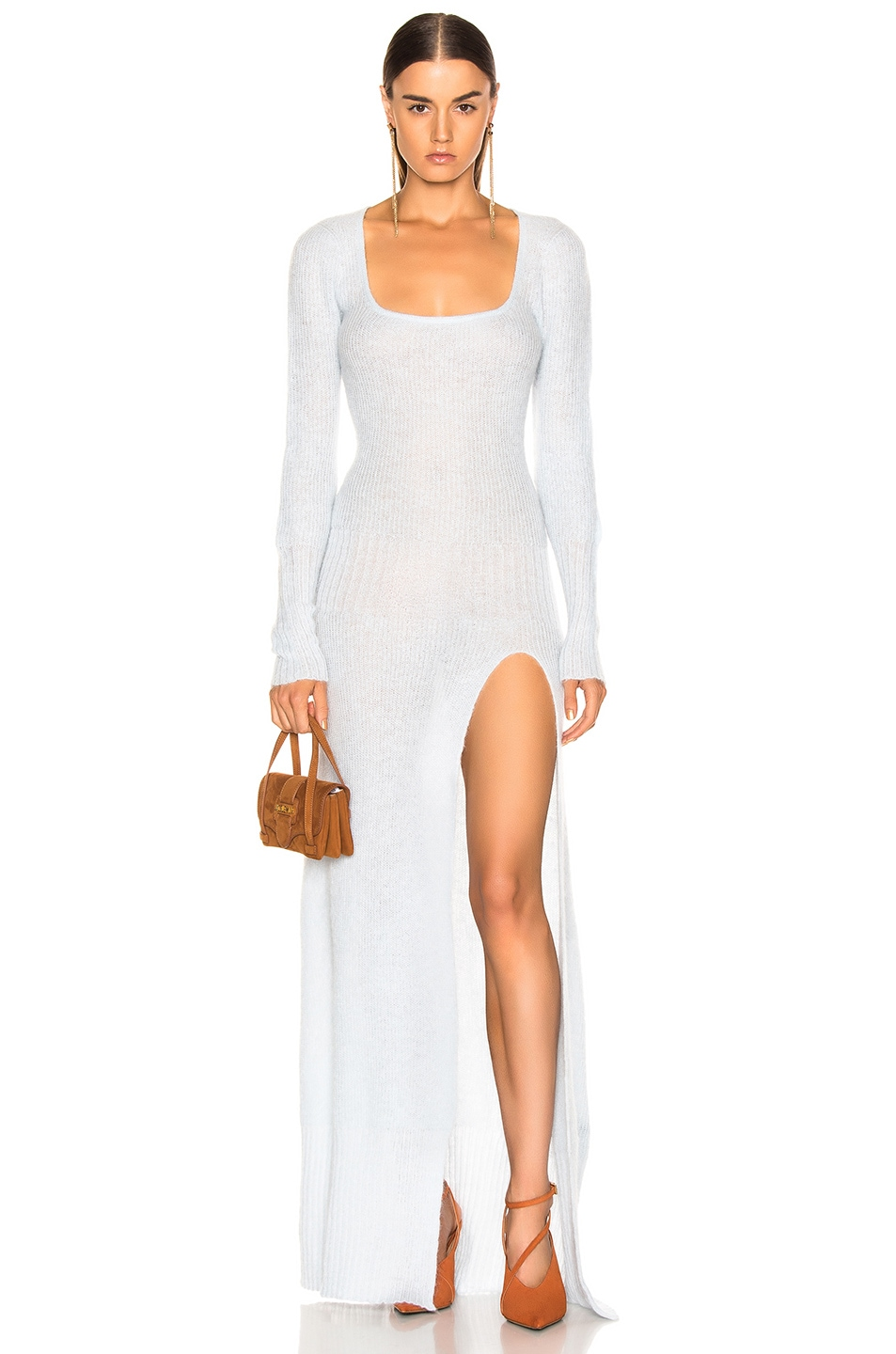 Image 1 of JACQUEMUS Dao Dress in Light Blue