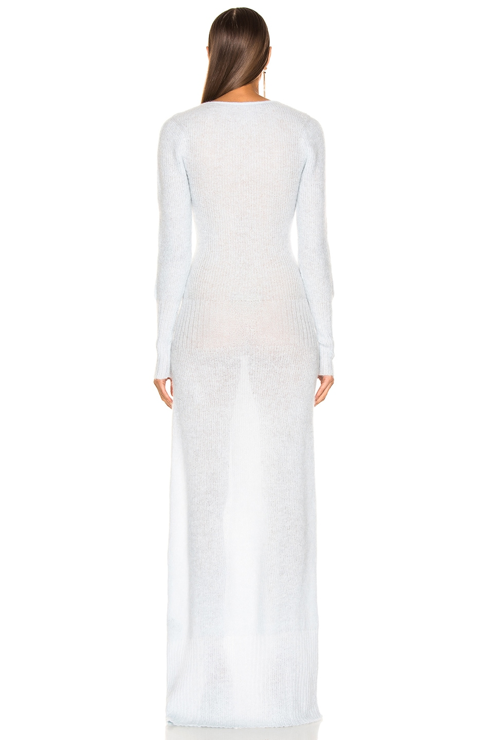 Image 4 of JACQUEMUS Dao Dress in Light Blue