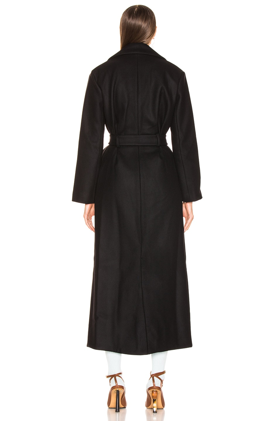 Image 4 of JACQUEMUS Aissa Trench Dress in Black
