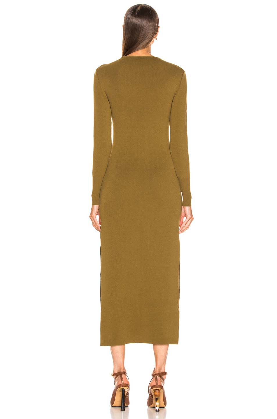 Image 4 of JACQUEMUS Douira Dress in Kaki