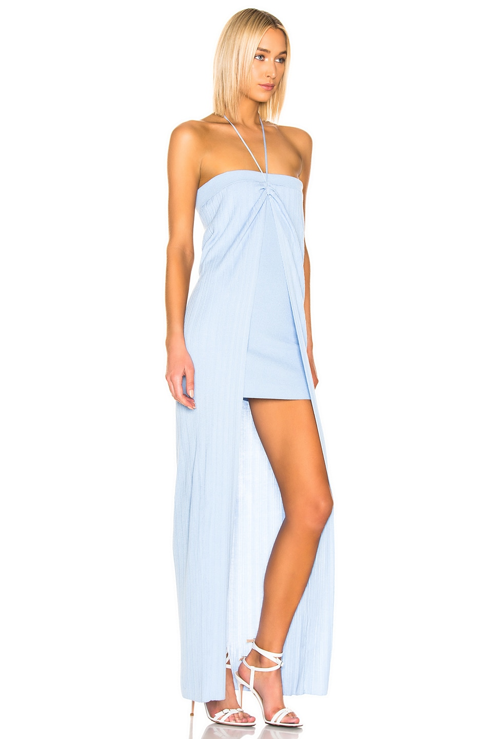 Image 2 of JACQUEMUS Siena Dress in Light Blue