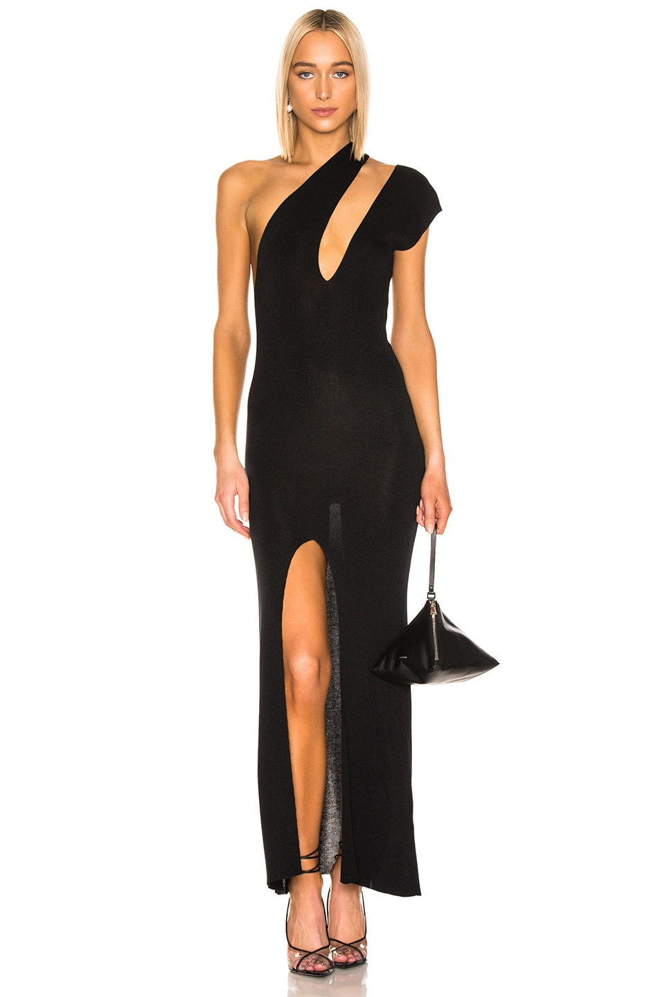 Image 1 of JACQUEMUS Azur Dress in Black