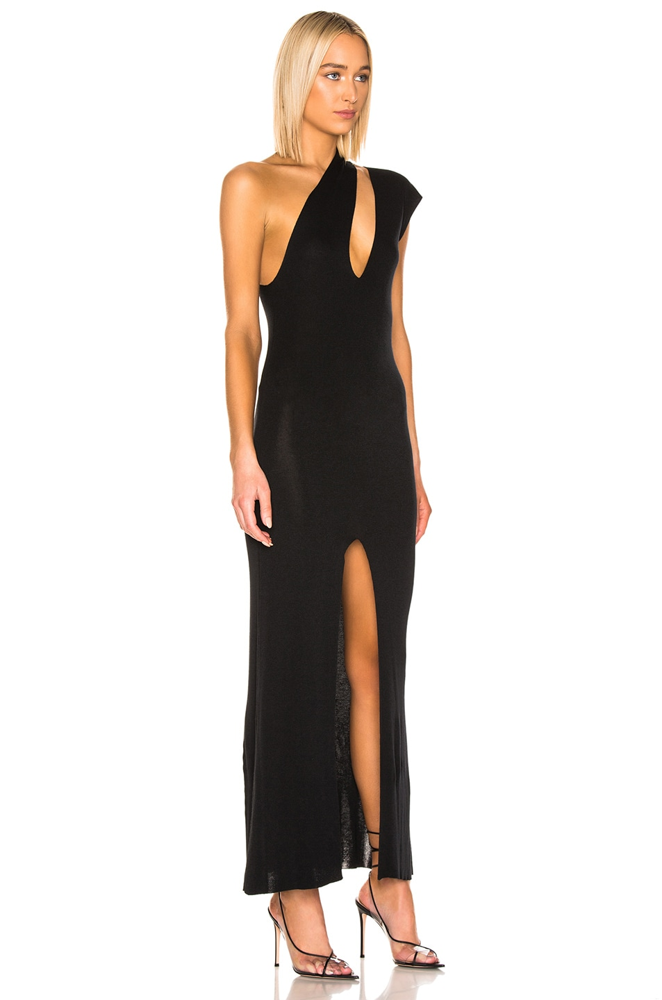 Image 2 of JACQUEMUS Azur Dress in Black