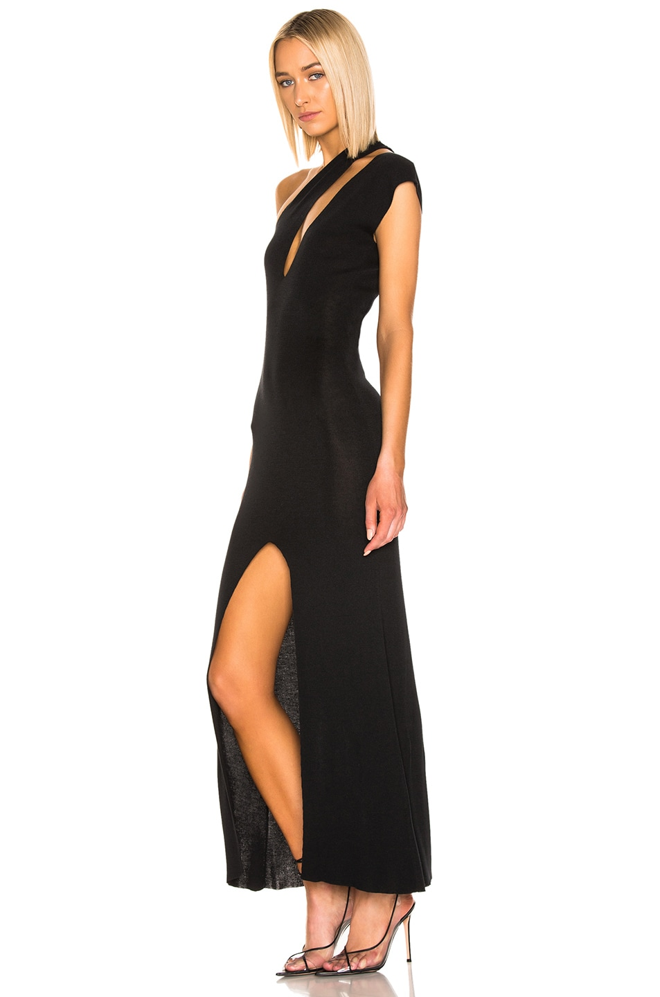 Image 3 of JACQUEMUS Azur Dress in Black