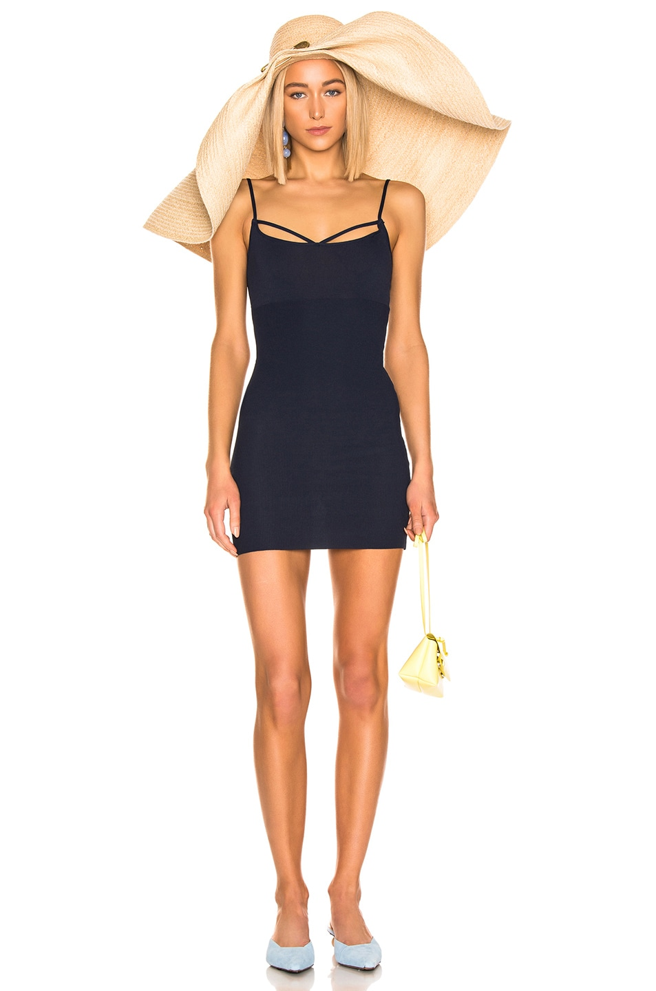 Image 1 of JACQUEMUS Dolceaqua Dress in Navy